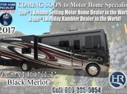 New 2017  Holiday Rambler Vacationer 35K Bath & 1/2 RV With Sat, W/D, LX Package by Holiday Rambler from Motor Home Specialist in Alvarado, TX