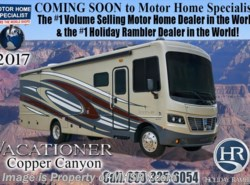 New 2017  Holiday Rambler Vacationer 35K Bath & 1/2 RV With Sat, W/D, LX Pkg, King by Holiday Rambler from Motor Home Specialist in Alvarado, TX