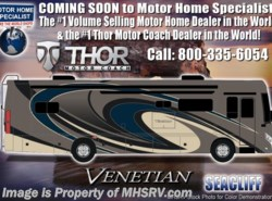 New 2019 Thor Motor Coach Venetian M37 Luxury RV for Sale W/Theater Seats & King Bed available in Alvarado, Texas