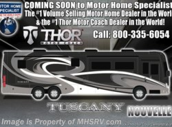 New 2019 Thor Motor Coach Tuscany 45MX Bath & 1/2 W/Theater Seats, King, Aqua Hot available in Alvarado, Texas