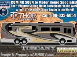 New 2019 Thor Motor Coach Tuscany 45MX Bath & 1/2, Theater Seats, Dsl Aqua Hot, King. Motor Home Specialist - Alvarado, Texas