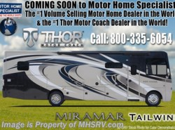 New 2018 Thor Motor Coach Miramar 37.1 Bunk Model W/2 Full Baths & Fireplace available in Alvarado, Texas