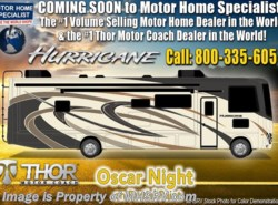 New 2019 Thor Motor Coach Hurricane 27B for Sale at MHSRV W/ 5.5KW Gen & 2 A/Cs available in Alvarado, Texas