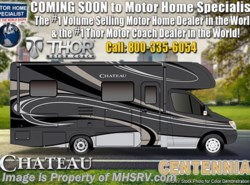 New 2019 Thor Motor Coach Chateau Sprinter 24WS Sprinter Diesel W/Ext TV & Dsl Gen available in Alvarado, Texas