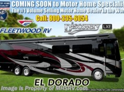 New 2019 Fleetwood Discovery LXE 44B Bath & 1/2 Bunk Model W/Tech Pkg, 450HP, King available in Alvarado, Texas