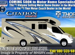 New 2019 Thor Motor Coach Chateau Citation Sprinter 24SK W/Dsl Gen, Theater Seats & Stabilizers available in Alvarado, Texas