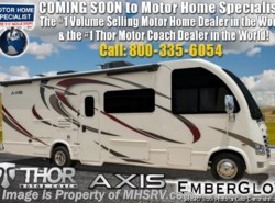 New 2019 Thor Motor Coach Axis 25.5 RUV for Sale W/ Ext TV, OH Loft available in Alvarado, Texas