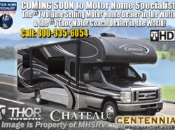 New 2019 Thor Motor Coach Chateau 31W Class C RV for Sale W/ Jacks & 15K A/C available in Alvarado, Texas