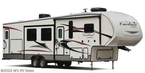 2019 Forest River Cardinal Explorer 322DS with outside kitchen