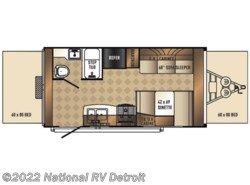 Used 2015  Palomino Solaire eXpandables 163X by Palomino from National RV Detroit in Belleville, MI
