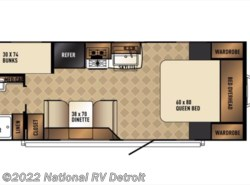 New 2017  Palomino Solaire Ultra Lite 211BH by Palomino from National RV Detroit in Belleville, MI