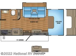 New 2017  Jayco Melbourne 24M by Jayco from National RV Detroit in Belleville, MI