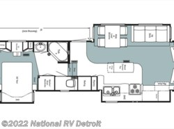 Used 2004  Newmar Mountain Aire 35BLKS by Newmar from National RV Detroit in Belleville, MI