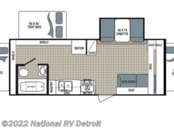 New 2017  Dutchmen Kodiak Express 222ES by Dutchmen from National RV Detroit in Belleville, MI