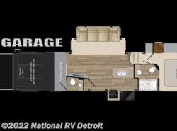 New 2017  Heartland RV Cyclone 3611 by Heartland RV from National RV Detroit in Belleville, MI