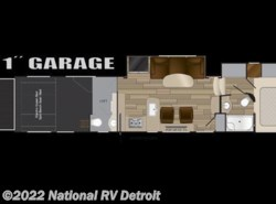 New 2017  Heartland RV Cyclone 4115 by Heartland RV from National RV Detroit in Belleville, MI