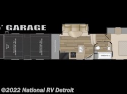 New 2017  Heartland RV Cyclone 4018 by Heartland RV from National RV Detroit in Belleville, MI