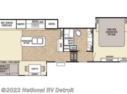 New 2017  Forest River Cedar Creek Champagne 38EL by Forest River from National RV Detroit in Belleville, MI