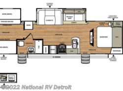 New 2017  Forest River Salem Hemisphere 312QBUD by Forest River from National RV Detroit in Belleville, MI