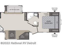 New 2017  Keystone Premier 24RKPR by Keystone from National RV Detroit in Belleville, MI