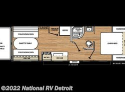 New 2017  Coachmen Catalina Trail Blazer 22TH by Coachmen from National RV Detroit in Belleville, MI