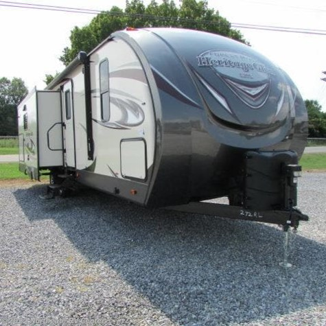 2018 Forest River Wildwood Heritage Glen LTZ 272RL