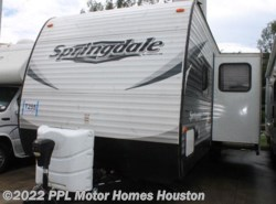 Used 2015  Keystone  Springsdale 294BH by Keystone from PPL Motor Homes in Houston, TX