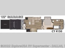 New 2016  Heartland RV Cyclone 4150 by Heartland RV from ExploreUSA RV Supercenter - MESQUITE, TX in Mesquite, TX