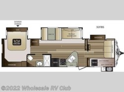New 2017  Keystone Cougar X-Lite 32FBS by Keystone from Wholesale RV Club in Ohio