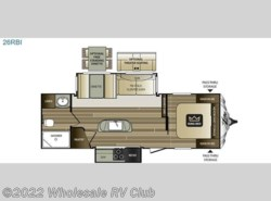New 2017  Keystone Cougar X-Lite 26RBI by Keystone from Wholesale RV Club in Ohio