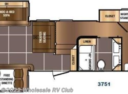 New 2017  Prime Time Sanibel 3751 by Prime Time from Wholesale RV Club in Ohio