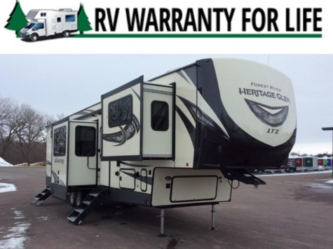 2019 Forest River Wildwood Heritage Glen LTZ 378FL