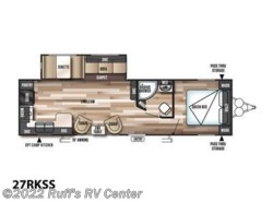 New 2017  Forest River Wildwood T27RKSS by Forest River from Ruff's RV Center in Euclid, OH