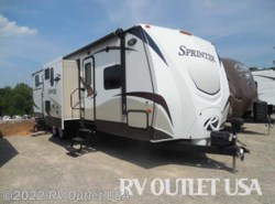Used 2014  Keystone Sprinter 316BIK by Keystone from RV Outlet USA in Ringgold, VA