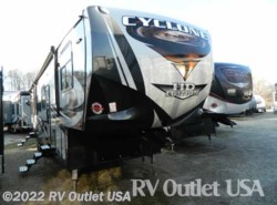 New 2017  Heartland RV Cyclone 4115 HD by Heartland RV from RV Outlet USA in Ringgold, VA