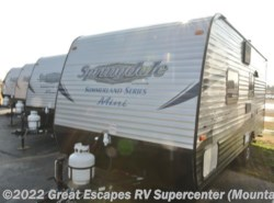 New 2017  Keystone Springdale Summerland Mini 1700FQ by Keystone from Great Escapes RV Center in Gassville, AR