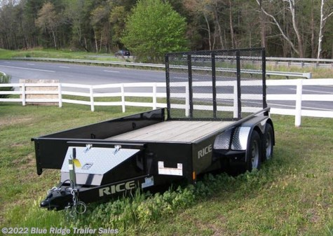 2019 Rice Trailers Stealth 6x12 TA