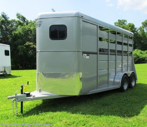 2020 Valley Trailers 2H BP w/Dress 7'6