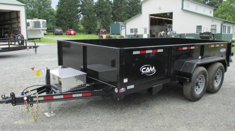 2019 CAM Superline Advantage 7x12 LPHDT 12K 3 Way Gate w/Ladder Ramps