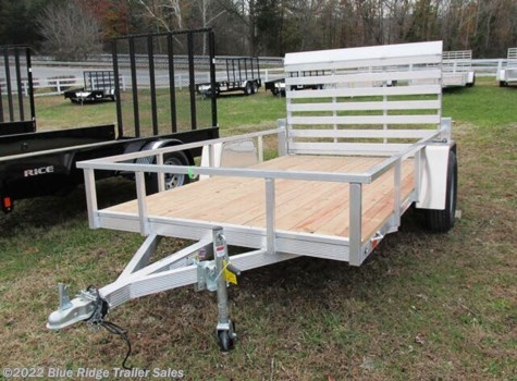 2020 Sport Haven AUT 6x10  Wood Deck Open Side