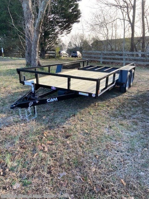 2021 CAM Superline 7x16 TA Tube Top with Ramp