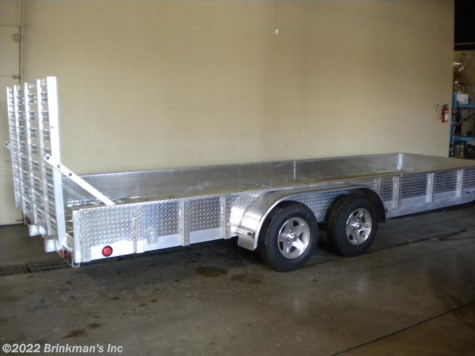 2018 Trophy 6x20 2 Place UTV trailer