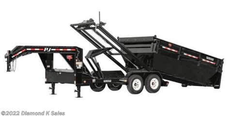 2017 PJ Trailers Dump DRR14-14K ROLL-OFF