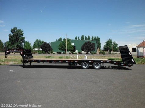 2018 PJ Trailers Flatdeck LDR32-25K Power Tail