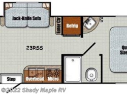 New 2017  Gulf Stream Vintage Cruiser 23RSS by Gulf Stream from Shady Maple RV in East Earl, PA