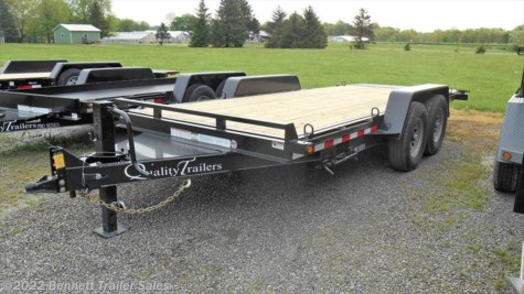 2021 Quality Trailers SWT Series 18 Pro -Wood Deck