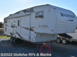 Used 2008  Forest River Rockwood 828ISS AS IS by Forest River from Stoltzfus RV's & Marine in West Chester, PA