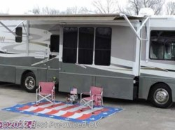 Used 2006  Winnebago Adventurer 38J 3 slides wood floors warranty by Winnebago from Best Preowned RV in Houston, TX