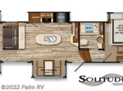 New 2017  Grand Design Solitude 375RES by Grand Design from Palm RV in Fort Myers, FL