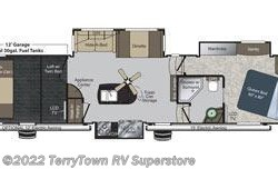 Used 2012  Keystone Raptor 381LEV by Keystone from TerryTown RV Superstore in Grand Rapids, MI